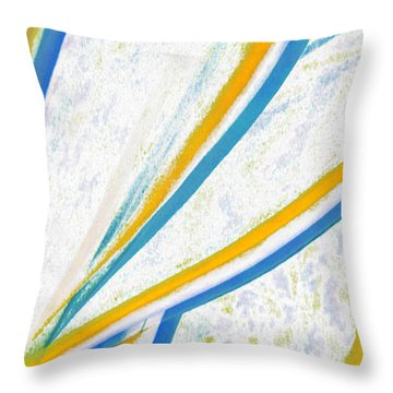 Rhapsody In Leaves No 1 Throw Pillow