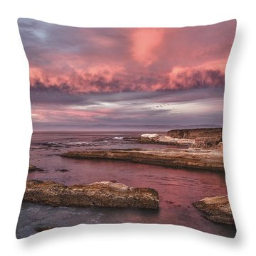 Rhapsody In Pink Throw Pillow