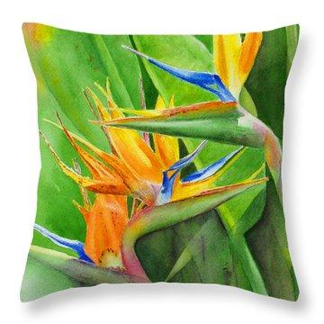 Rhonica's Garden Throw Pillow