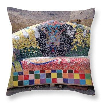 Rhyolite Sofa Throw Pillow