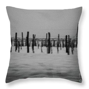 Rhythm Throw Pillow by Inessa Burlak