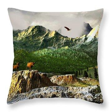Rhythm Of Life Throw Pillow