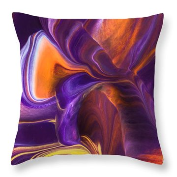 Rhythm Of My Heart Throw Pillow