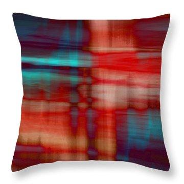 Rhythmic Stripes Throw Pillow