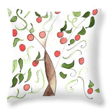 Riad Orange Tree 2017 Throw Pillow