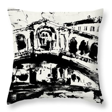 Venice Italy Ginette Throw Pillows