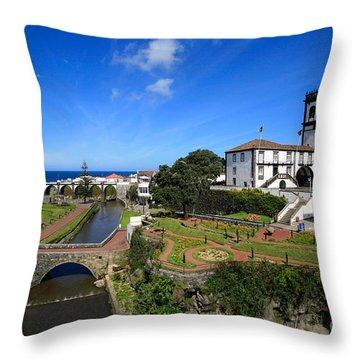 Ribeira Grande - Azores Islands Throw Pillow by Gaspar Avila