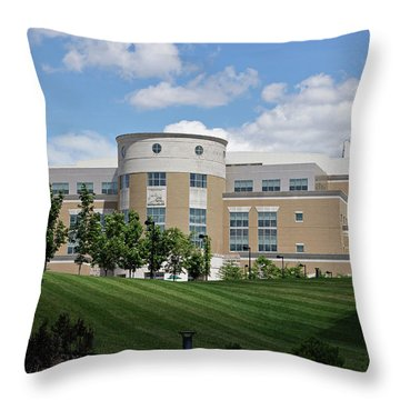 Rice Library II Throw Pillow