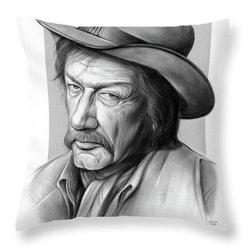 Richard Boone 3 Throw Pillow