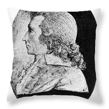 Richard Cranch Throw Pillow by Granger