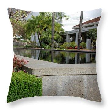 Richard M. Nixon Throw Pillow