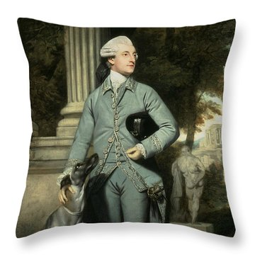 Richard Peers Symons Throw Pillow