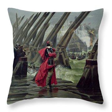 Galleons Throw Pillows