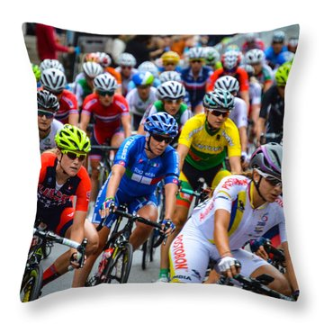 Richmond 2015 Throw Pillow