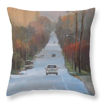 Richmond To The Jubilee Throw Pillow by Ron Wilson