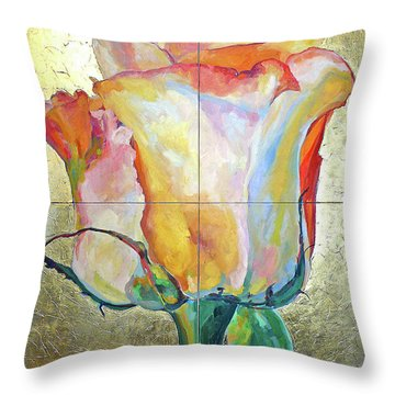 Richness Throw Pillow