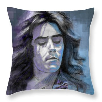 Rick At Play Throw Pillow by Terry Webb Harshman