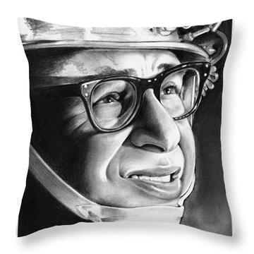 Rick Moranis Throw Pillow