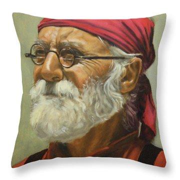 Rickabod At High Noon Throw Pillow