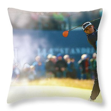 Rickie Fowler  Throw Pillow