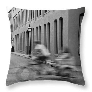 Rickshaw Speed Throw Pillow by Dustin K Ryan