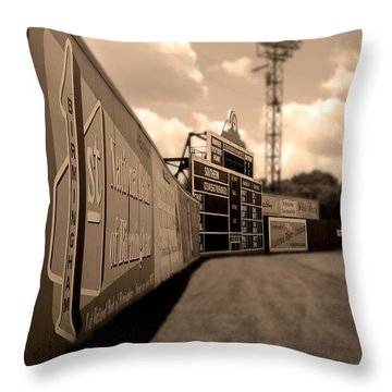 Rickwood Field Fence Throw Pillow