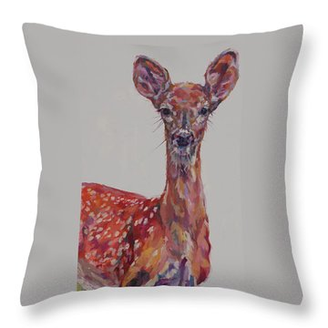 Ricocheter Throw Pillow