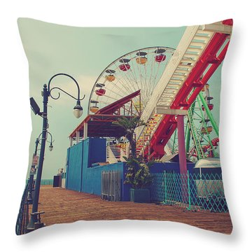 Ride It Out Throw Pillow by Laurie Search