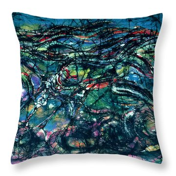 Ride The Wind Throw Pillow