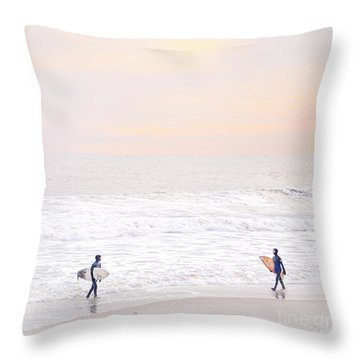 Riders Of The Sea Throw Pillow