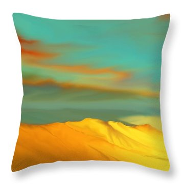 Ridge Throw Pillow