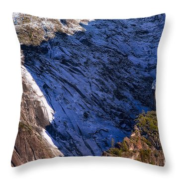 Ridgeline Shadows Throw Pillow
