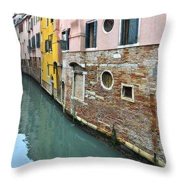 Riellos Of Venice Throw Pillow