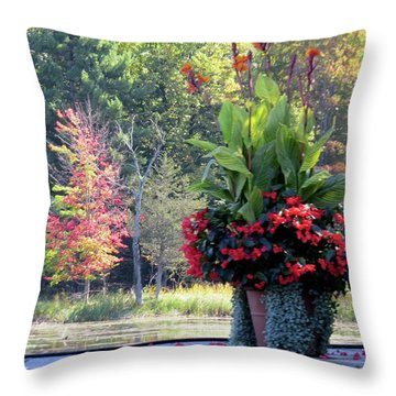 Rift 1 Throw Pillow