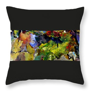 Right Behind The Sofa Throw Pillow by Charlie Spear