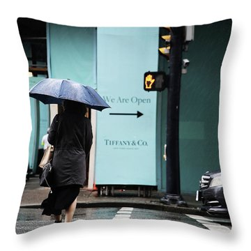 Right  Throw Pillow by Empty Wall