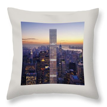 Right Here Right Now Throw Pillow
