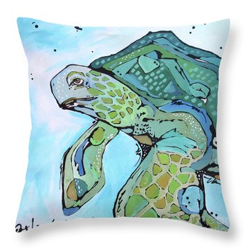 Right On Throw Pillow