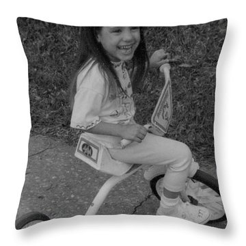 Right Turn...... Throw Pillow
