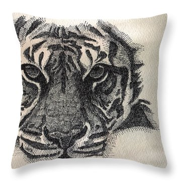 Righteous Hunger Throw Pillow