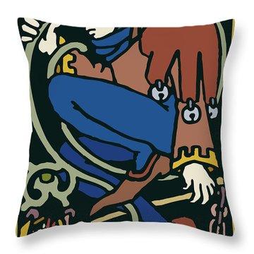 Rigoletto Throw Pillow
