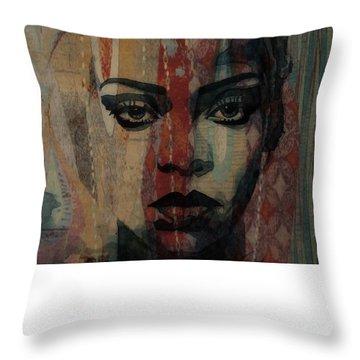 Rihanna - Diamonds Throw Pillow