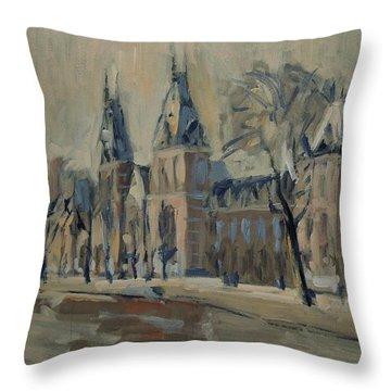 Rijksmuseum Just After The Rain Throw Pillow