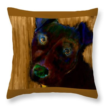 Rillo In Watercolor Throw Pillow