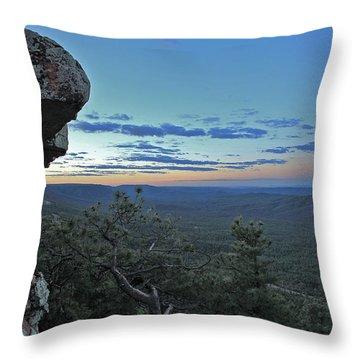 Rim Daybreak Throw Pillow by Gary Kaylor