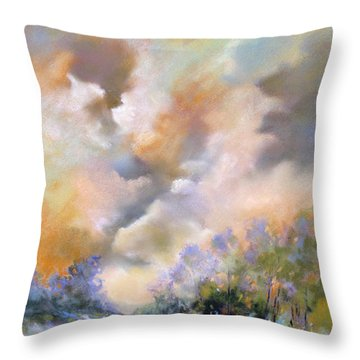 Rim Light Throw Pillow