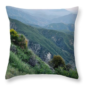 Throw Pillow featuring the photograph Rim O' The World National Scenic Byway II by Kyle Hanson