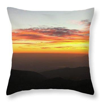 Rim Of The World Throw Pillow