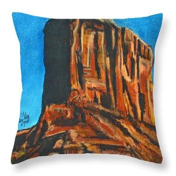 Rim Rock Throw Pillow