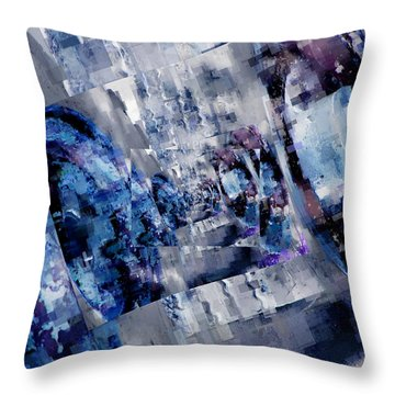 Rim Shots Throw Pillow